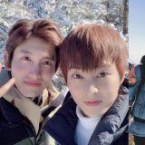 《我独生》东方神起昌珉为了预计於今年入伍的EXO XIUMIN旧地重游:「希望能把好运带给他」