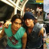 男神之间持续20年以上的友情!宋承宪为正在拍摄《我身后的陶斯》的苏志燮送上应援咖啡车!