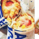 韩国人气最火的玉米香肠面包!原来是白种元家的啊,难怪CP值爆表~