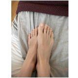 誰的腳指頭這樣細長? 裴斗娜SNS分享腳趾戒指認證照