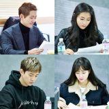 南宫珉、南相美、2PM俊昊主演新剧《金科长》首次读本会议照公开