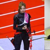 「射箭女神又来了♥」《偶像运动会》别人是来参赛,TWICE子瑜可能是来刷新颜值的!