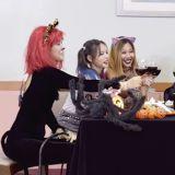 《姐姐們的Slam Dunk》萬聖節玩變裝 閔孝琳小丑女&金淑無臉男!