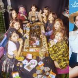 【有片】台上Red Velvet唱得起劲台下TWICE秒变迷妹:全程高举手臂应援!