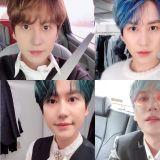 退伍后变成「调色盘」!SJ圭贤SNS更新多张自拍并留言:「头发啊…辛苦了」