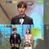 《君主》俞承豪、金所炫、金明洙在2017「MBC演技大赏」夺下光荣五座奖杯