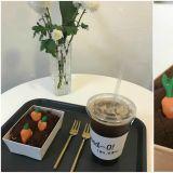 在提拉米蘇田裡拔蘿蔔、採蘑菇~水源超可愛甜點咖啡廳