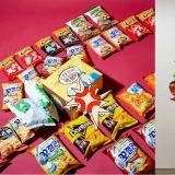 E-MART超市「挑戰無限零食」活動又來啦!在這個盒子中零食任你裝,裝多少就拿多少走!