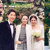 宋宋CP結婚啦!章子怡更新與宋仲基和宋慧喬合影,畫面看起來好幸福啊!