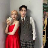 太妍&Key完全就是「豪门姐弟」,站在一起就一个字「贵」XD