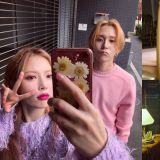 粉红色的竞争!5日要发行新曲的泫雅、金晓钟(DAWN),还将在同时同地举行Showcase!