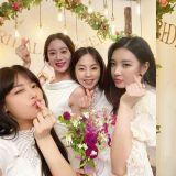 婑斌晒惠林新娘派对照,Wonder Girls4人同框激起回忆杀