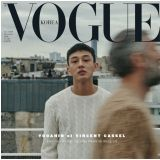 互為路人的時尚概念?劉亞仁+文森卡索的帥氣雜誌封面