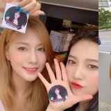 「96 FOREVER!」GFRIEND藝琳給Apink吳夏榮、Red Velvet JOY送咖啡車應援?