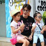Ricky Kim夫妻及可愛的兒女──泰琳、泰吳、泰拉 讓人對「家庭」產生想像