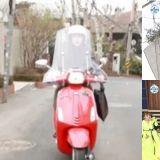 孫淡妃在《我獨》提到自己騎機車很多年...卻在轉彎處不小心摔車!讓彩虹會員們都嚇到了