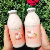 喝甚么好呢?最新推出的水蜜桃牛奶快点笔记起来!