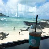 濟州咖啡探訪(2):來狹才海邊尋找人生的「쉼표(逗號)」吧!