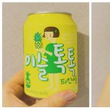 首尔美食实吃评论 : 可爱瓶身水蜜桃与凤梨气泡酒