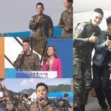 這照片顏值也太高~!尹道賢與當兵中的帥哥們周元、任時完、李章宇、SJ厲旭大合照~!