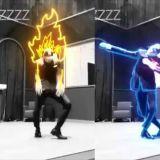 当EXO KAI行云流水的舞姿配上电光特效,简直是锦上添花!