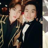 【有片】和BTS防弹少年团Jin一起学习演技的李伊庚!「在《MAMA》见到了 还特地来打招呼 非常感谢」