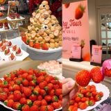草莓控的朋友請尖叫~Ashley草莓buffet可以吃到飽!