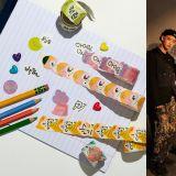 SM推出超可爱纸胶带新周边! EXO & Red Velvet & NCT都有