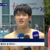 接连两次成功追星的选手!继ITZY礼志之后,BLACKPINK Jennie也为韩国游泳小将黄善宇应援