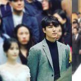 李敏镐、金钟国、K.Will出席熟人婚礼,李敏镐站在新娘边上太抢镜了吧XD