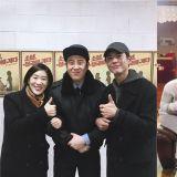 《男朋友》媽媽、哥哥一起去看弟弟的話劇!朴寶劍、白智媛應援P.O並公開合照