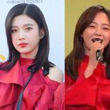 Red Velvet Joy VS gugudan金世正VS金請夏:小露香肩,性感迷人