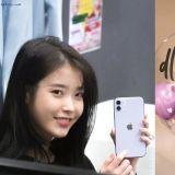 IU上電台向粉絲展示紫色新手機!但...她明明說過:我是沒有紫色也活得好好的人 XD