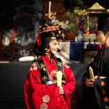 高梓淇蔡琳舉辦傳統韓式婚禮 深情對望