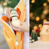 圣诞节一到就会变身的香蕉牛奶?真的太可爱了~