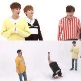 《一周偶像》根本是燃燒自己在錄影啊!鄭亨敦用自己的方法詮釋B1A4新歌結果全場笑「翻」~!