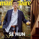 EXO世勳最新雜誌畫報  展露媲美模特的魅力