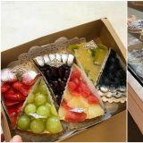 【釜山必吃】釜山海雲臺必吃水果派,滿滿的草莓、櫻桃跟白葡萄~晚來你就吃不到囉!