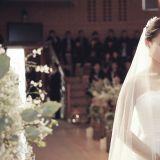 南相美婚禮現場照曝光 穿純白婚紗似女神