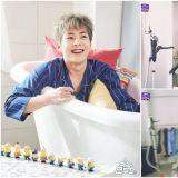 《被子外面很危险》为EXO XIUMIN庆生 可爱又害羞的反应