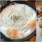 【弘大必吃】吃过鲜奶油蛋糕,但你吃过鲜奶油排骨吗?弘大超人气雪花排骨锅报到!