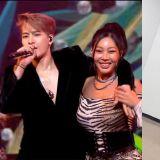 《KBS歌谣盛典》Jessi 的合作舞台上,Jackson(GOT7)悬空的偶像绅士手!