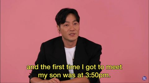《鱿鱼游戏》朴海秀电视剧上线前10分钟喜获麟儿:儿子外号叫「鱿鱼Boy」