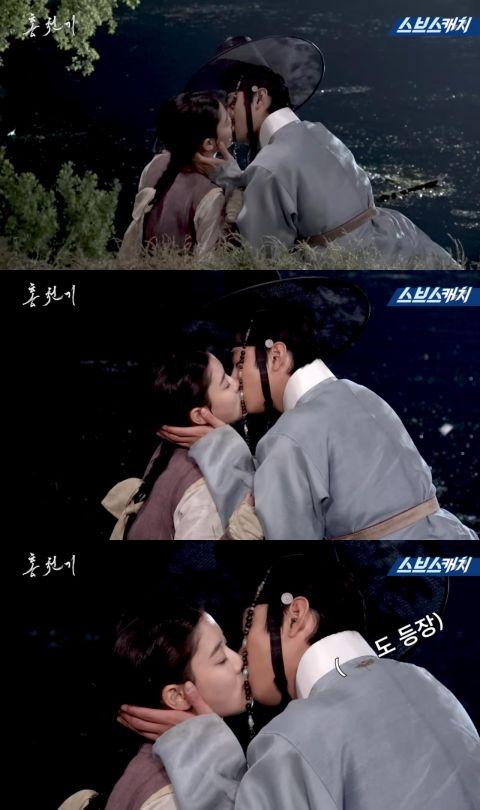 《红天机》金裕贞&安孝燮KISS戏花絮公开!成果超唯美浪漫,但拍摄过程却比想像中还要艰辛