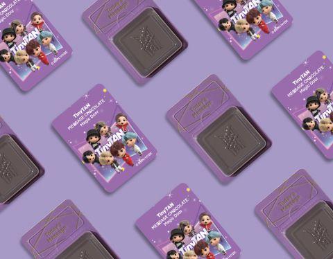 BTS TinyTAN祝褔语朱古力香港期间限定店登陆铜锣湾时代广场