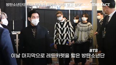 这件洞洞衣不是随便人都可以穿的!除了《海岸村恰恰恰》洪班长金宣虎之外就属BTS防弹少年团的V啦!