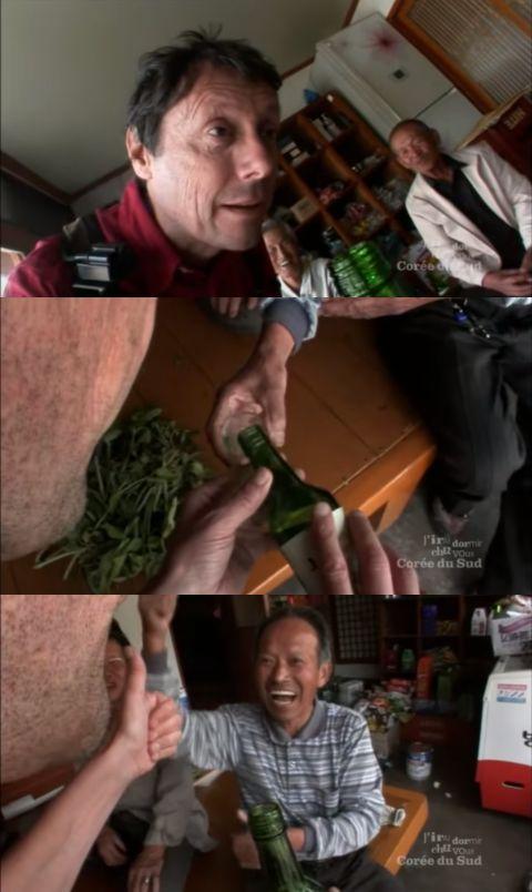 【有片】法国旅游博主在韩国乡村喝到断片,语言不通竟全程交流无障碍!其中原因实在太妙XD