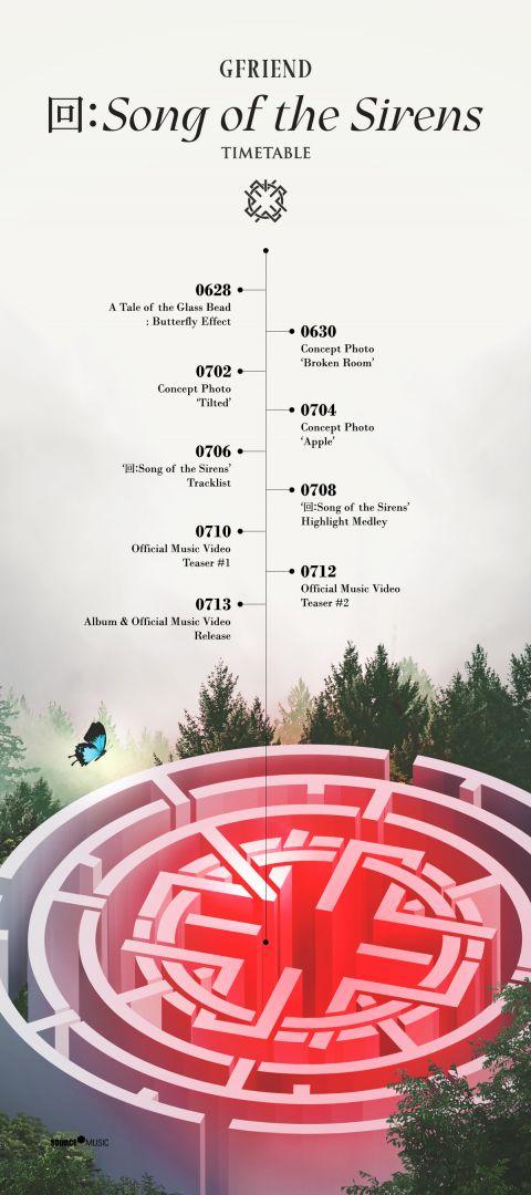 GFRIEND 公开新专辑预热行程表 将再度展现新面貌!