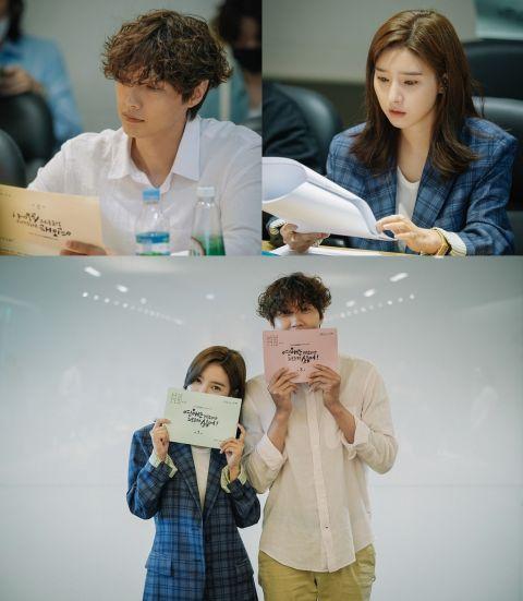 《恋爱虽然麻烦但更讨厌孤独》金昭誾x智铉寓等人读剧现场公开
