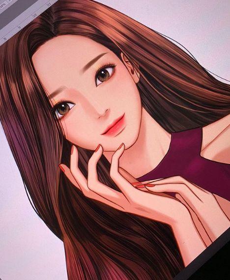 韩国人气网漫《女神降临》的正妹作者宣布休刊!身体健康亮红灯 - KSD 韩星网 -117055-738723